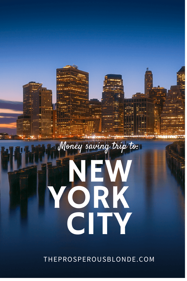 Vacation In New York City On A Budget. I'll Show You How